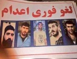 پنج زندانی اعدامی از خانواده های مستضعف هستند