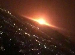 انفجار در منطقه نظامی پارچین؛ تصاویر صداوسیما